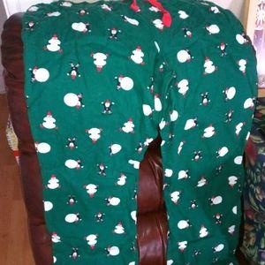 Girls fleece winter jammi bottoms